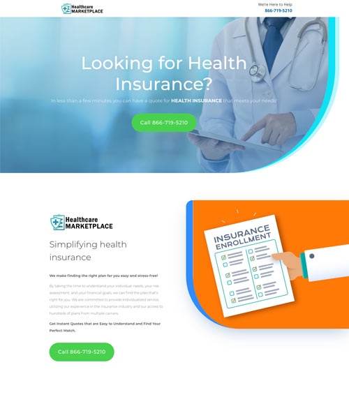 healthcare marketplace website development